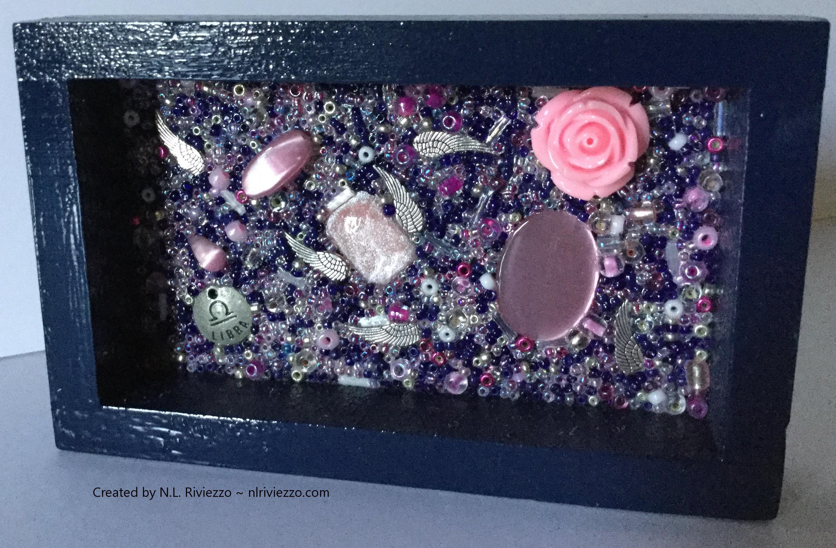 Libra: Air, Indigo Blue, Rose, and Quicksilver