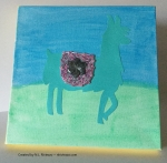 Turquoise Llama I